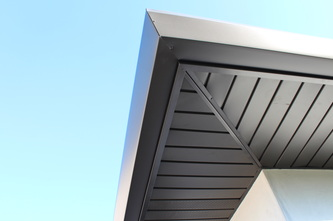 Fascia Wrapping Windows And Door Cladding And Metal